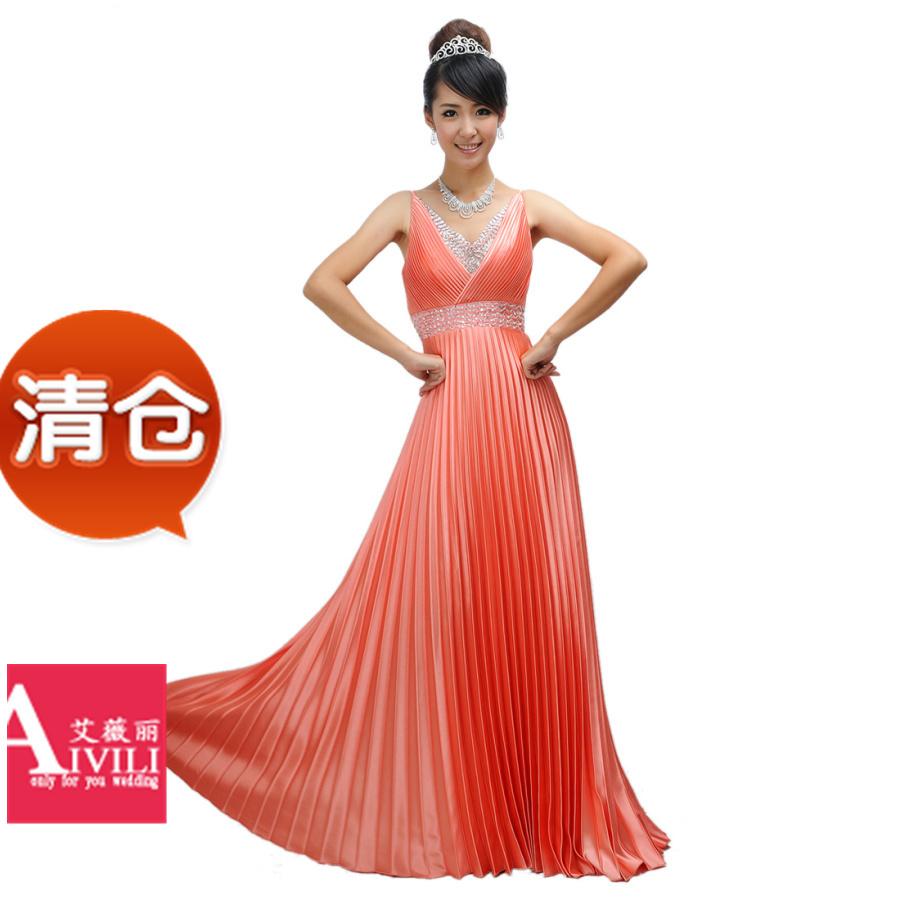 Вечернее платье Yiwei Li AF018 Yiwei Li Макси-юбка (более 126см)