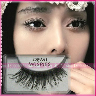 Eye cross messy tail long Qiao genuine ardell Ai Daier false lashes DEMI WISPIES