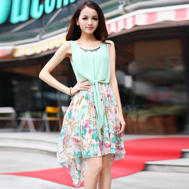 连衣裙2014夏