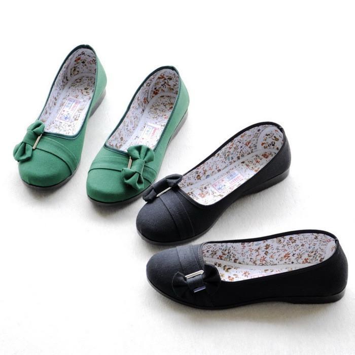 туфли AB район 2 Весна twin Pack электронной почты работают с плоская обувь старый Пекин ткани обувь Обувь ребенка обувь дамы обувь Плоская подошва Ткань