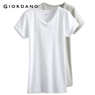 Giordano men's underwear in summer 2012 new two-Pack underwear plain v neck short sleeves 01242014