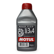 法国摩特MOTUL DOT 4 BRAKE FLUID 全合成刹车油 兼容DOT3 0.5L