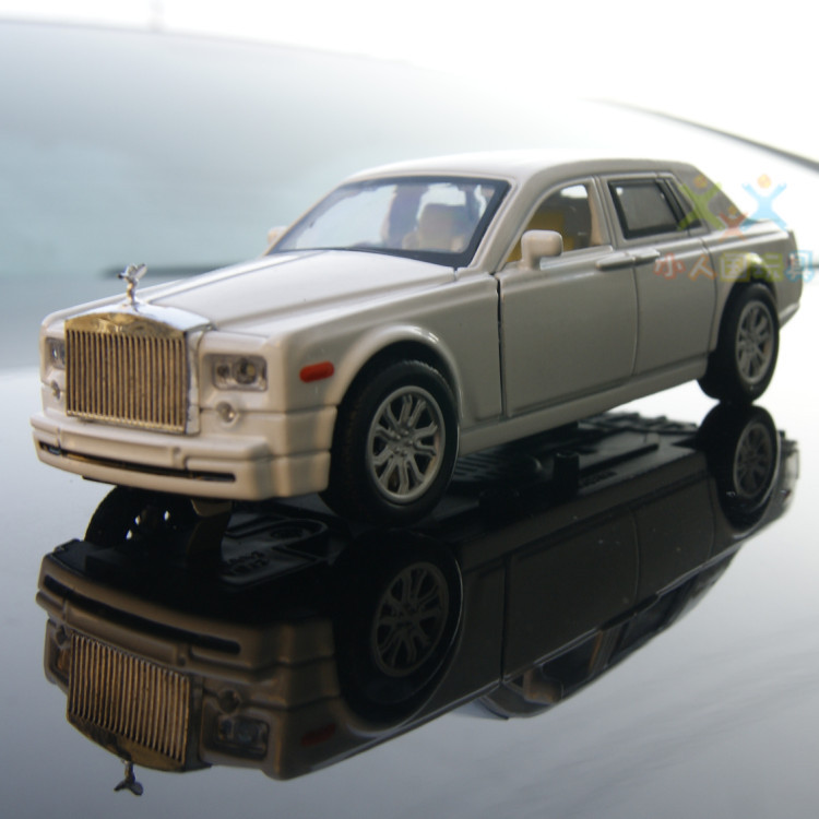 Rolls Royce Phantom cars new three-door special 1:32 classic car sound and light alloy car model