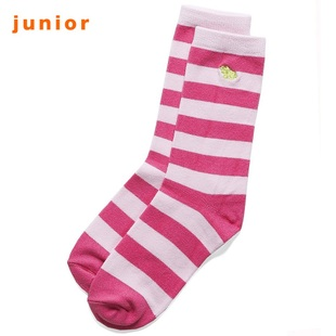 2012 new stock recommendation Giordano striped tube socks socks calf embroidery 03159503