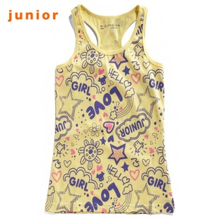 Giordano in summer 2012 new stock recommendation t-girls love calf vest 03322011