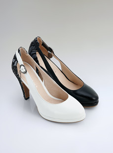 Dream Basha shoes new elevated platform pointed low shoes 038611131