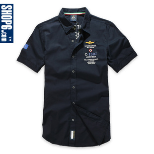 Shop6 33,986  6th store men's 2012 Italy  force wind short sleeve cotton shirt