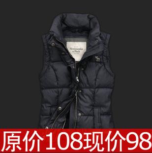 Autumn decoration down vest lover put Korean trend of  new ladies casual vest code  waistcoat
