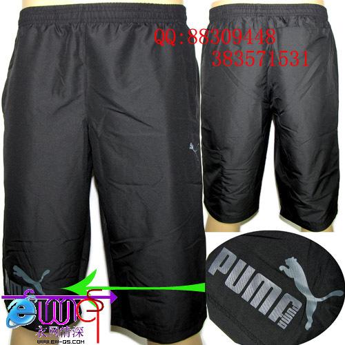 Спортивные шорты PUMA 810799 =( Унисекс Эластичный Полиэстер ||property3014877|| Для спорта и отдыха % Рисунок, Вышивка, Офсетная печать, Логотип бренда % Полиэстер