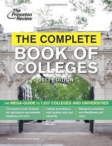 The Complete Book of Colleges, 2013 Edition (College Admissi
