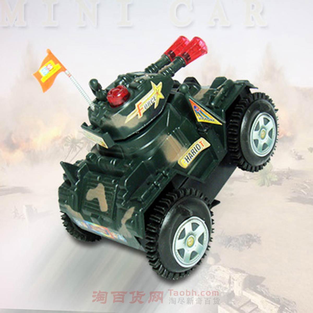 игрушка Динамический звук и свет четырехколесные электромобилей с мигалками