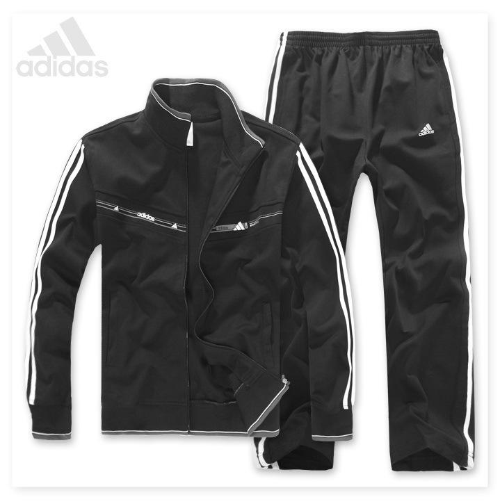 Спортивный костюм Adidas 688698 2012 Для мужчин Длинные рукава (рукава ≧ 58см) Воротник-стойка Брюки ( длинные ) Для спорта и отдыха Офсетная печать, Логотип бренда, Вышивка