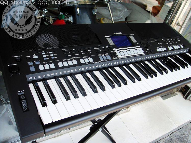 电子琴琴键分布图_
