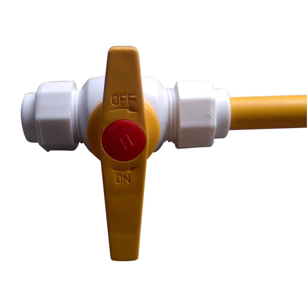 太阳能配件 ppr钢芯球阀 卡套铝塑管塑料球阀1216图片