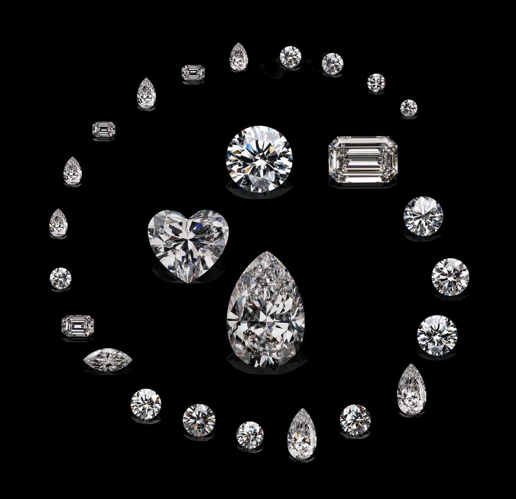 淘最美钻 igi证书 4.03克拉净度vvs2 颜色g 切工vg vg裸钻石特价