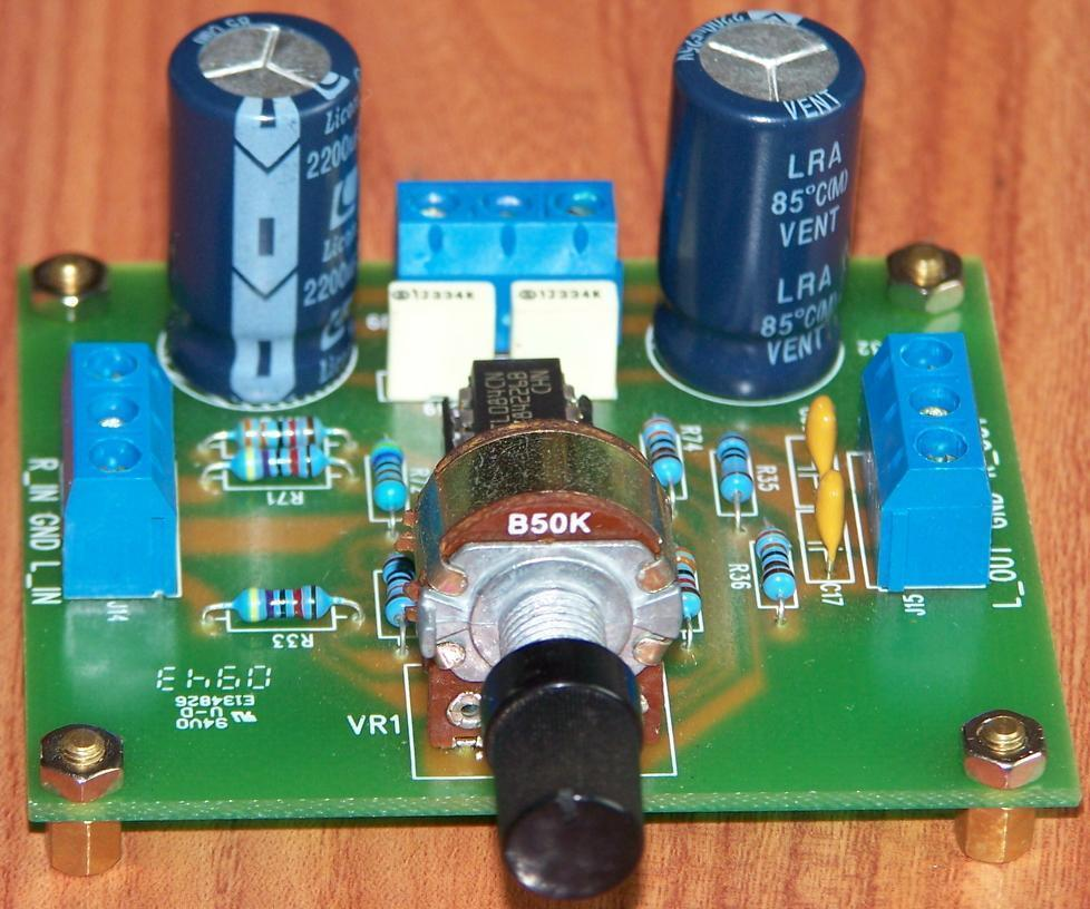 Imitation British Music Fax A1 Preamp Board With 4 Speed Op Amp Ic Circuit Tl084 Dual Loading Zoom
