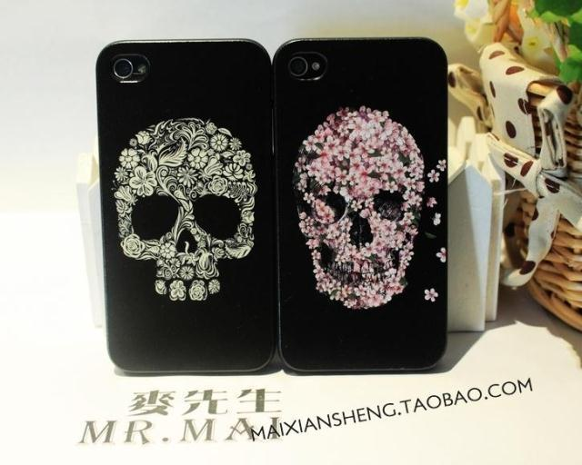 Apple чехол High/end painted Iphone4/4s High-end painted Из пластика