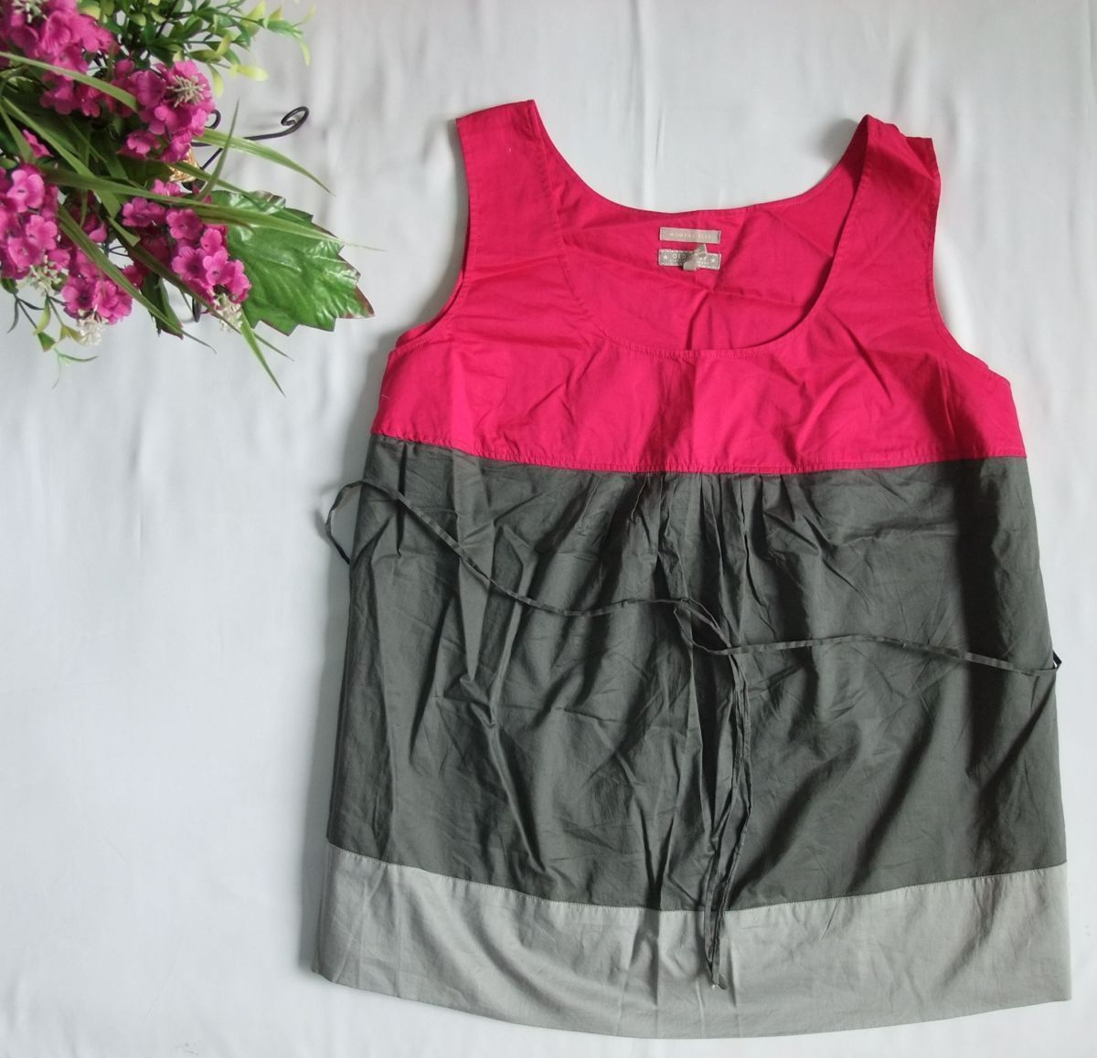 женская рубашка Городской стиль Без рукавов О-вырез