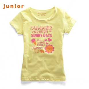 2012 new Giordano t-shirts girls calf in summer beach party t-03392002