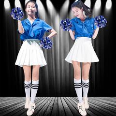 韩国舞蹈女团成人啦啦操表演服少女时代学生拉拉队演出服套装
