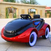 婴儿童电动车四轮遥控汽车可坐男女小孩摇摆童车宝宝玩具车可坐人