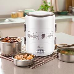 小熊双层电热饭盒 可插电加热保温饭盒 蒸饭器电热饭器上班族迷你
