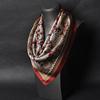 苏州丝绸真丝小方巾男士式桑蚕丝丝绸丝巾围巾真丝丝巾