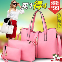 BaoXia section 2015 of the new female bag steamed stuffed bun. Lady bag contracted fashion bag, single shoulder bag handbag