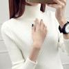 高领毛衣女装秋冬季2018网红短款内搭套头加厚长袖针织打底衫