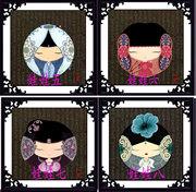 处理客厅卧室钻石画十字绣中国娃娃红楼梦女人水晶圆钻贴钻画