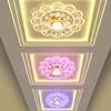 创意水晶过道灯走廊灯玄关灯门厅灯 简约led射灯筒灯天花阳台灯