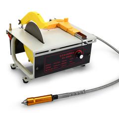 大功率1280W多功能台磨机玉石雕刻机 打磨机 抛光机 木工台锯