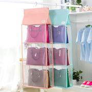 特大号包包收纳挂袋防尘挂袋立体多层衣橱柜挂包袋杂物储物袋