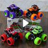 惯性四驱越野车儿童男孩模型车抗耐摔玩具车2-3-4-5岁宝宝小汽车