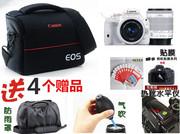 佳能 1200D 1300D 100D 600D 700D 单反相机包 双镜头防水摄影包