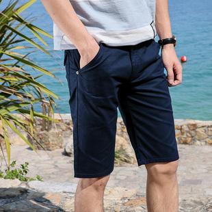 夏季男士短裤潮流时尚宽松五分裤男装青少年沙滩裤中裤薄
