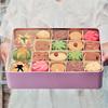 过年年货节置办网红传统糕点心 荷花酥曲奇饼干礼盒 特产美食零食