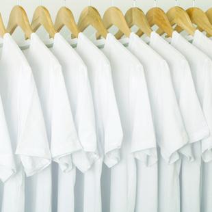 白色t恤男士短袖夏季纯白半袖圆领体恤潮流抖音唇印纯棉打底衫