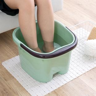 加厚泡脚足浴盆按摩泡脚桶家用塑料泡脚盆洗脚盆加高洗脚足浴桶
