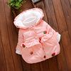 1岁半0女童装6个月女宝宝2冬装3婴儿4外套5小孩7加绒8棉袄9衣服装