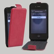 苹果4S上下开皮套平果4S手机壳卡包插卡钱包全包时尚防摔男女潮