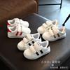 童鞋小童学步鞋春秋鞋子小孩子单鞋1-3岁2男女童运动鞋宝宝小白鞋