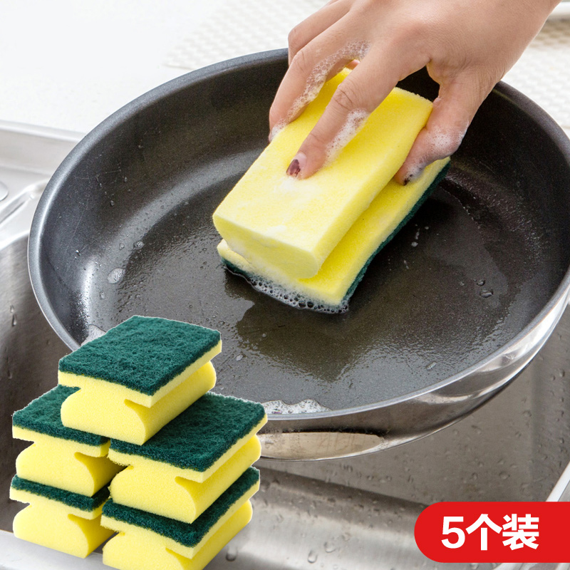 每次都是一大箱,从不漏发,一件不差__居家家 工字型清洁海绵擦加厚百洁布 厨房用品强力去污洗碗布刷锅