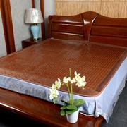 碳化麻将凉席1.5米1.8m单双人学生席床垫竹席夏季折叠席竹凉席