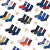 素人工作室袜子春秋运动女棉中筒袜男潮学院风韩国高长袜街头