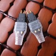 专业改进版 森海HD660S HD600 HD25 HD650 耳机升级线镀金插针