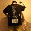 原创国潮条形码字母印花宽松超大短袖T恤男女滑板嘻哈街头暗黑tee