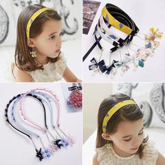 儿童发箍女童韩国可爱公主甜美防滑花朵发卡头饰小孩学生头箍发饰