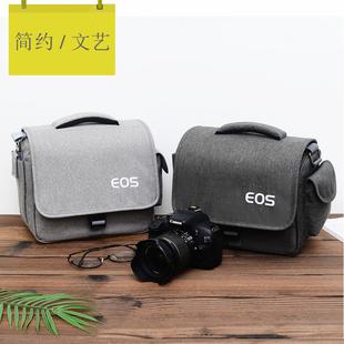 佳能相机包 单反单肩微单摄影750D70D80D200D800D6D5D2便携M6M100