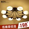 吸顶灯客厅灯美式乡村铁艺灯现代简约餐厅田园卧室灯饰灯具